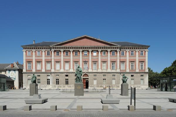 Une photographie de la Cour d'Appel de Chambéry